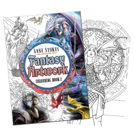 Anne Stokes Fantasy Colouring Book 2