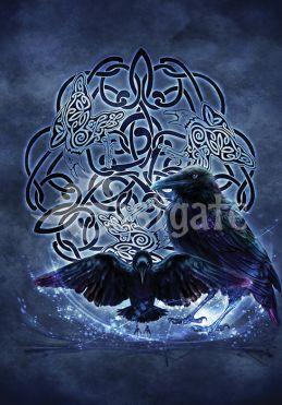 Celtic Raven (BA2)