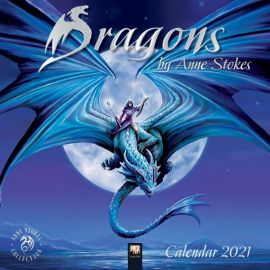 Anne Stokes Dragons Calendar 2021- Re-stocked to meet demand