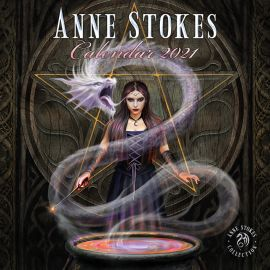 Anne Stokes General Art Calendar 2021 - ALWAYS POPULAR! SELLING FAST.