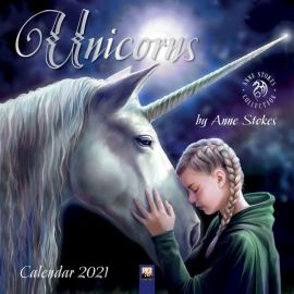 Anne Stokes Unicorns Calendar 2021 - SELLING VERY FAST