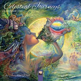 Josephine Wall Celestial Journeys Calendar 2021 - COMPLETELY SOLD OUT, sorry.