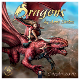 Anne Stokes Dragons 2020 Calendar 50% OFF