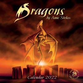 Anne Stokes 2022 Dragons Calendar