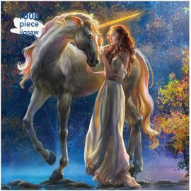Elena Goryachkina Sophia and the Unicorn 1000 Piece Jigsaw Puzzle SOLD OUT