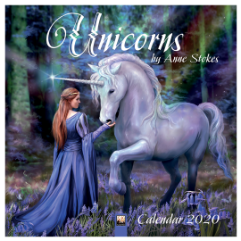 Anne Stokes Unicorns 2020 Calendar 50% OFF