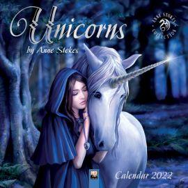 Anne Stokes 2022 Unicorns Calendar