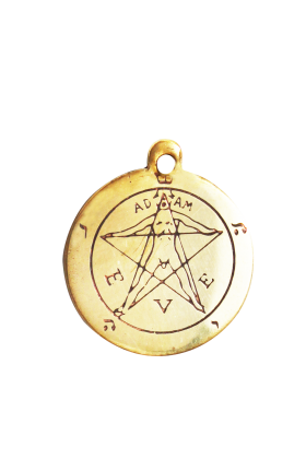 Pentacle Of Eden - Magickal Charm (A101)