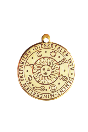 Sun Talisman - Magickal Charm (B86)