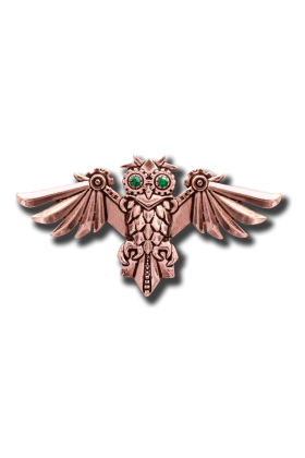 Aviamore Owl Brooch (EN12)
