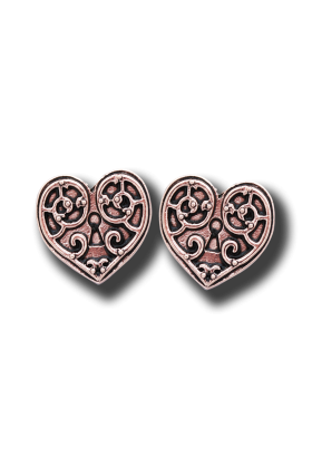 Valkyrie Heart Earrings (EN2)