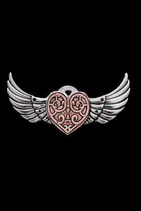 Valkyrie Heart Brooch (EN3)