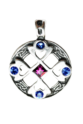 Celtic Cross Heart  (MA01)