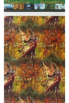 Autumn Fairy Wrapping Paper (WP1)