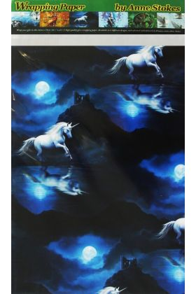 Moonlight Unicorn Wrapping Paper (WP2)