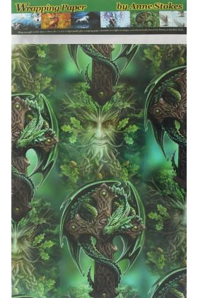 Woodland Guardian Wrapping Paper (WP6)