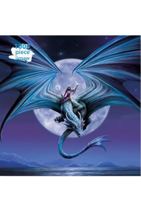Anne Stokes Moonstone 1000 Piece Jigsaw Puzzle  - Back in stock after Yule sell-out