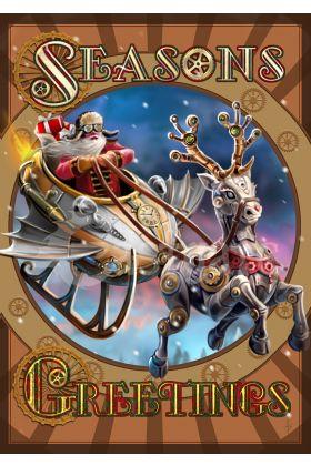 Steampunk Santa Yule (AN56)