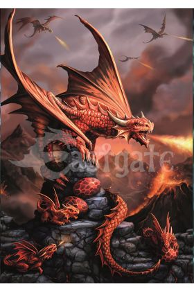 Fire Dragon Card (AN73)