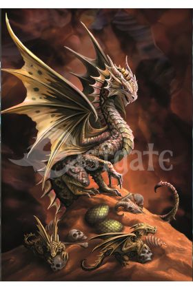 Desert Dragon Card (AN74)