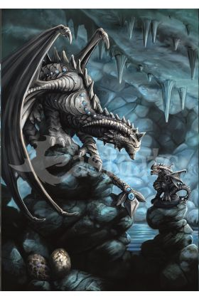 Rock Dragon Card (AN76)