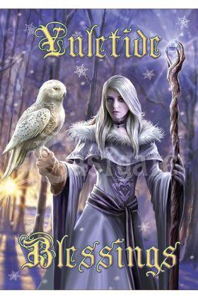 Winter Owl Card (AN88)