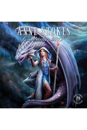 Anne Stokes 2019 Calendar