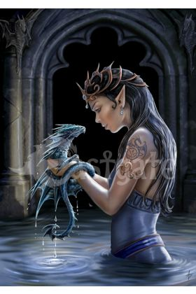 Water Dragon by Anne Stokes (ART36)