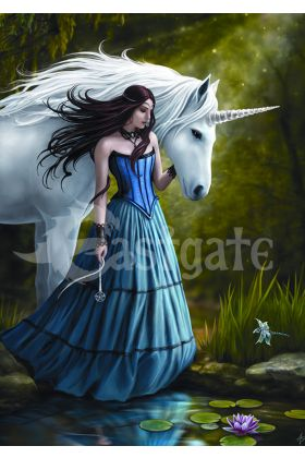Contemplation by Anne Stokes (ART39)