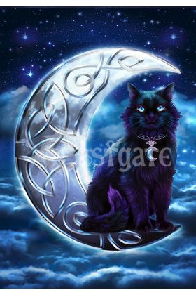 Celtic Black Cat (BA3)