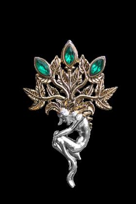 Mandrake Brooch (BB10B)