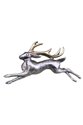 The Jackalope Brooch (BB11B)