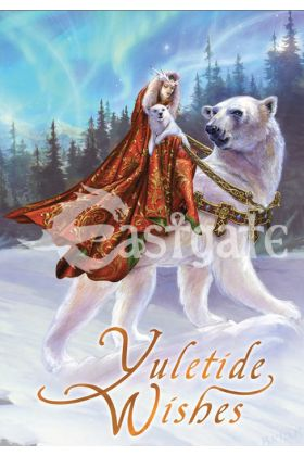 Queen Of The Aurora Bears Card (BY24)