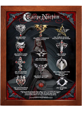Carpe Noctum Vampire Display Board