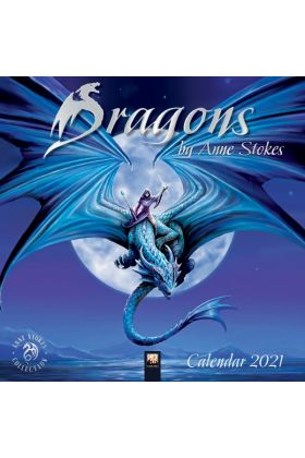 Anne Stokes Dragons Calendar 2021- This has OUTSOLD every other calendar by far. Last Remaining Stock. Now 50% OFF.