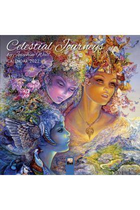 Josephine Wall - 'Celestial Journeys' Mini Wall calendar 2022