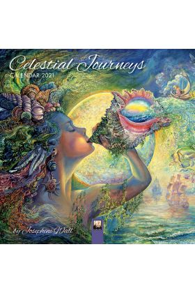 Josephine Wall Celestial Journeys Calendar 2021 - Selling quickly, not many  left.