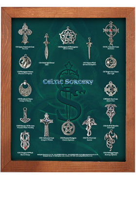 Celtic Sorcery Display Board