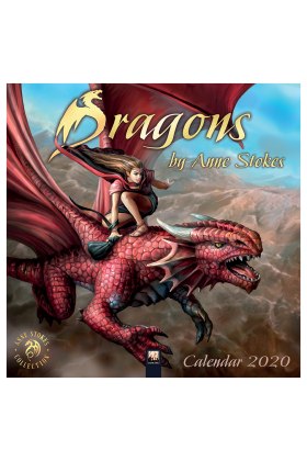 Anne Stokes Dragons 2020 Calendar 75% OFF