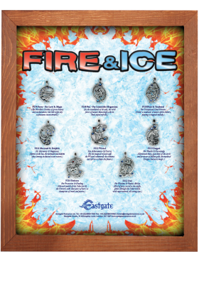 Fire & Ice Display Board