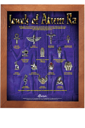 Jewels of Atum Ra Display Board