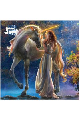 Elena Goryachkina Sophia and the Unicorn 1000 Piece Jigsaw Puzzle SOLD OUT