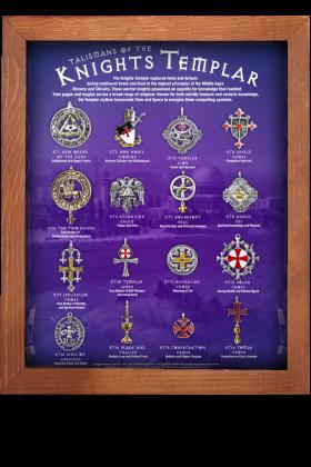 Knights Templar Display Board