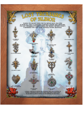 Lost Treasures of Albion Display Board