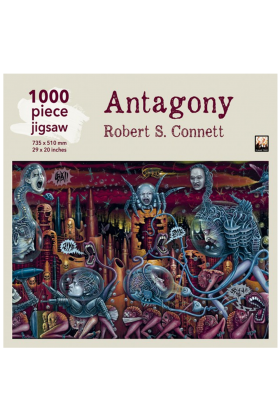 Robert S Connett Antagony 1000 Piece Jigsaw Puzzle - ONLY A HANDFUL LEFT