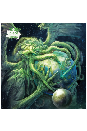 Eddie Sharam Cthulhu Rising 1000 Piece Jigsaw Puzzle - ONLY A HANDFUL LEFT